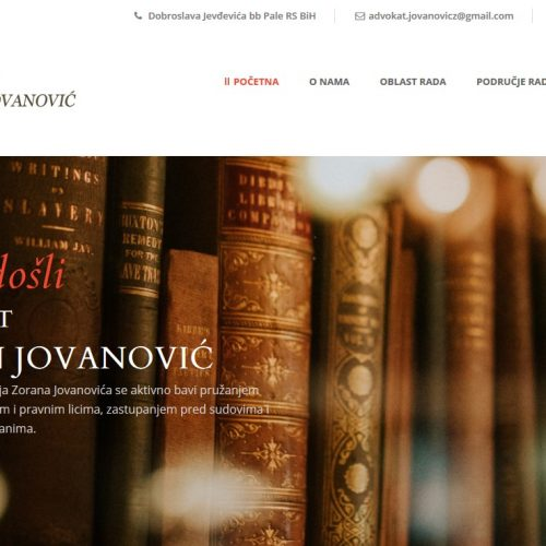 Advokat Zoran Jovanović